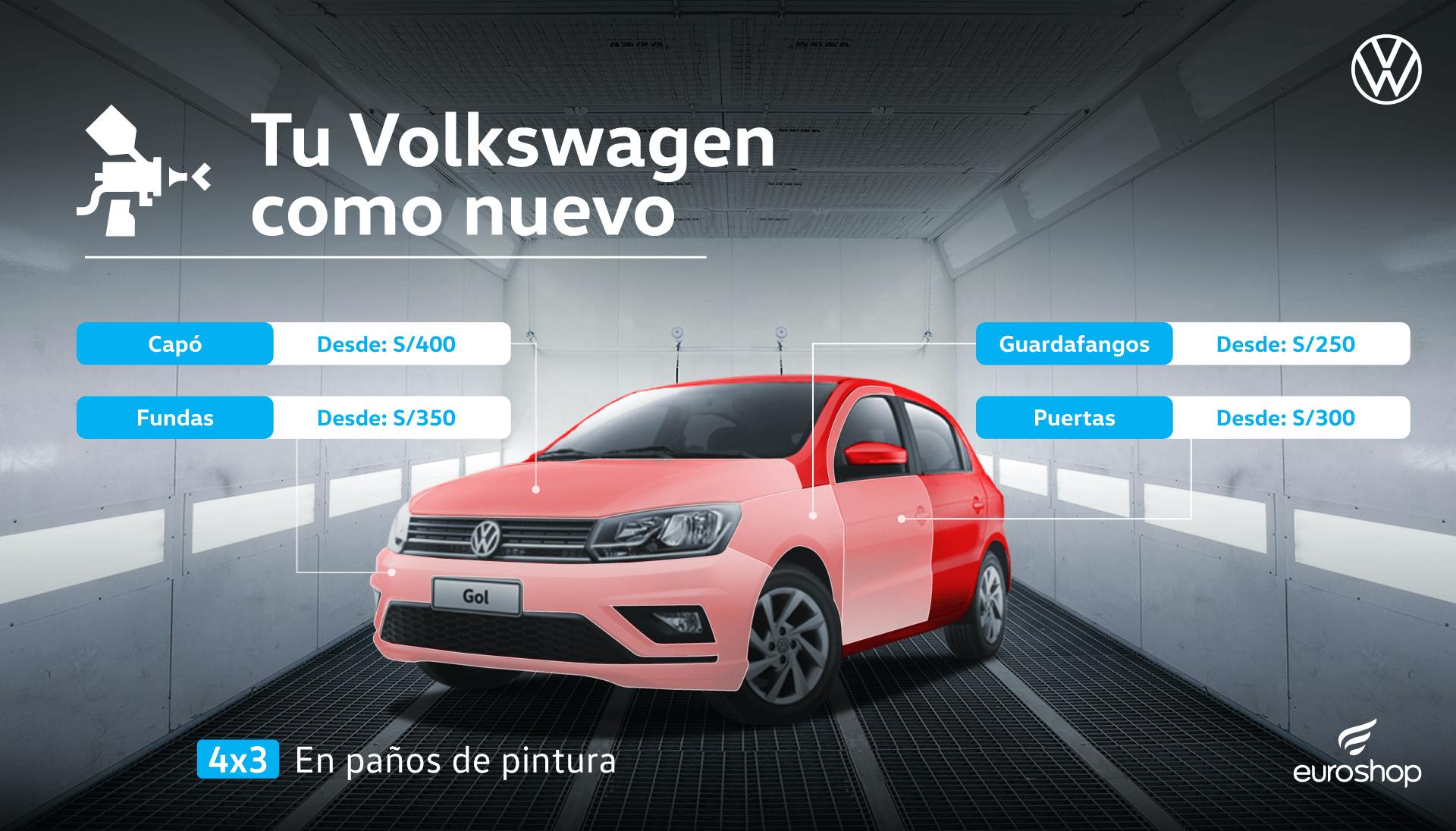 Tu Volkswagen como nuevo